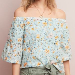 BRAND NEW Anthropologie LAIA Off the Shoulder Top
